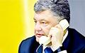 Украінцам масава «тэлефануе Парашэнка» і просіць падтрымаць яго на выбарах