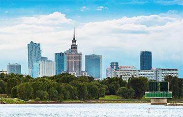 У Варшаве з'явілася колавая развязка «Cвабоднай Беларусі»