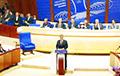 В ПАСЕ раскритиковали «выборы» в Беларуси