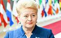 Dalia Grybauskaitė: Lukashenka, Leave Now!