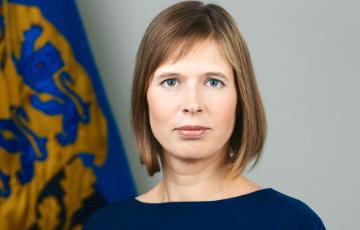 Прэзідэнтка Эстоніі выступіла супраць вяртання Расеі ў ПАРЕ