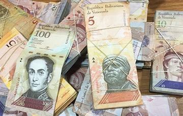 Инфляция в Венесуэле с начала года составила более 900%