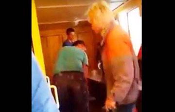 Видеофакт: «Дедовщина» и телесные наказания среди гомельских строителей