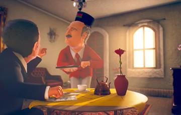 «Немецкая волна» показала мультик про Лукашенко-официанта