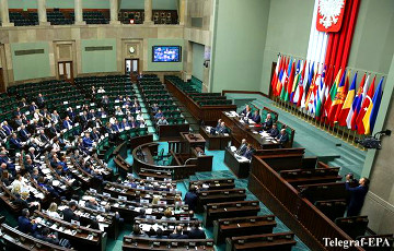 Сэйм Польшчы прыняў закон для правядзення прэзідэнцкіх выбараў
