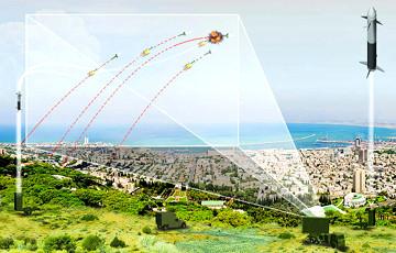 Ізраіль збіў ракету, выпушчаную з Сектара Газа