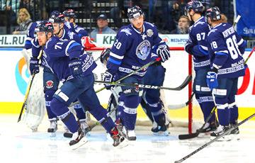 Минское «Динамо» проиграло 9 матчей из 10 перед стартом сезона в КХЛ