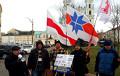 В Гродно активисты раздавали инструкцию, как обходить блокировку «Хартии'97»