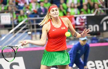 Белоруска Арина Соболенко возвращается в топ-10 рейтинга ВТА