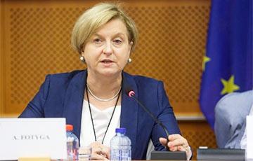 Депутат Европарламента Анна Фотыга призвала Могерини отреагировать на блокировку «Хартии-97»