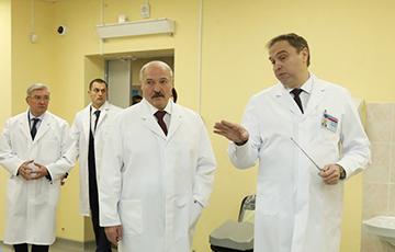 Лукашэнку стала дрэнна