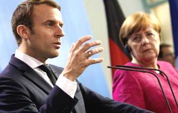Макрон и Меркель обсудили ситуацию в Беларуси