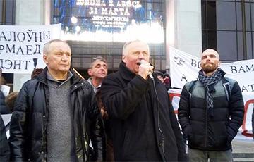 Освобождены Статкевич, Некляев и Афнагель