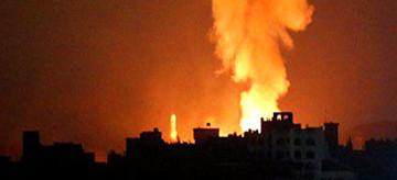 Военный удар по Сирии: в сети публикуют фото и видео
