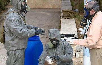 ЗША: Расея магла «замесці сляды» на месцы хіматакі ў Сірыі