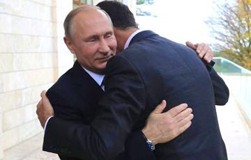 Financial Times: Лояльность Путина к Асаду загоняет РФ в опасный угол
