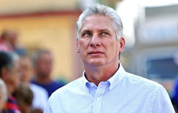 Прэзідэнт Кубы ляціць з візітам у Беларусь