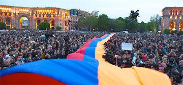 Революция онлайн: новые акции в Ереване