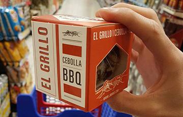 В Испании начали продавать еду из сверчков