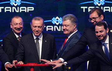 Удар у «Газпрам»: каспійскі газ падбіраецца да Еўропы
