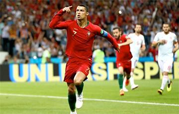 Криштиану Роналду установил феноменальное достижение в Лиге чемпионов
