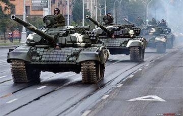 Не проехать, не пройти: в Минске продолжаются репетиции парада