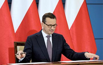 Премьер Польши: Мы окажем фирмам финансовую поддержку и сохраним рабочие места
