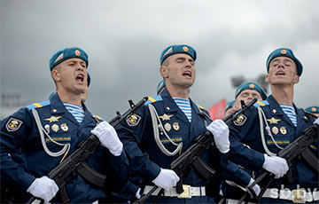 Russian Division, Which Occupied Crimea, Took Part In Lukashenka's Parade