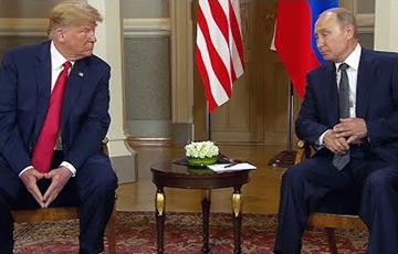 Трамп о Путине: Он мне нравился, я ему нравился