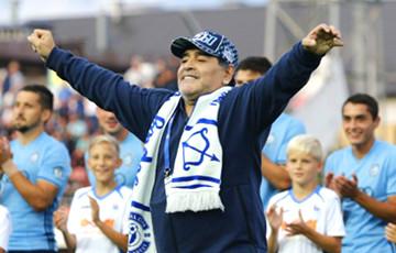 Брестское «Динамо» перевело Марадону в разряд «почетного представителя клуба»