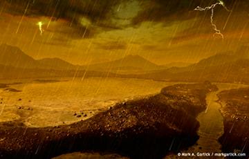 Астрономы обнаружили на Титане нефть