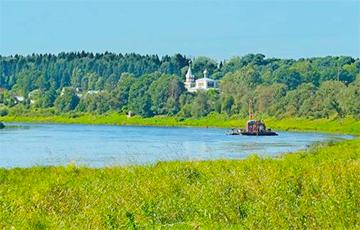 Уровень воды в Двине упал до 33 сантиметров над нулем поста в Витебске