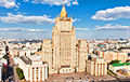 Russian Foreign Ministry: Belarusian Authorities' Statement Does Not Stand Up To Scrutiny