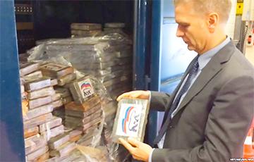В Бельгии задержаны 2 тонны кокаина с логотипом «Единой России»