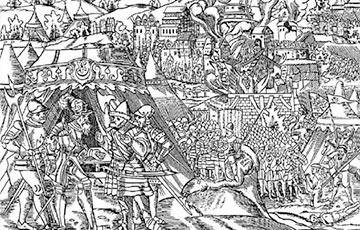 Як войска Рэчы Паспалітай на чале з каралём Сьцяпанам Батурам вызваліла Полацк ад маскоўцаў