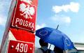 Польша временно вернет контроль на внутренних границах ЕС