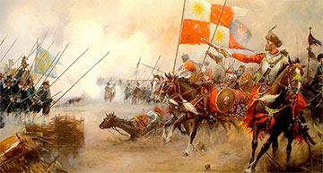 Как наши крылатые гусары разгромили под Киргхольмом лучшую армию Европы