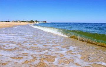 Адэскае мора, якое «кіпіць», знялі на відэа