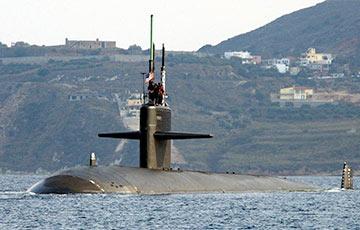 Атомная подлодка США столкнулась с неизвестным объектом в Южно-Китайском море