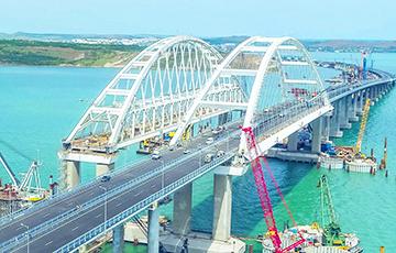 Эксперт: Крымскаму мосту пагражае сур'ёзная небяспека