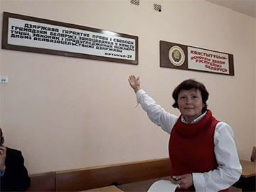 Alena Masliukova: Judicial System Is That Sort Of Cynicism And Insolence