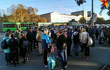 «А теперь медики»: Два автобуса гомельских студентов отправились «на морковку»