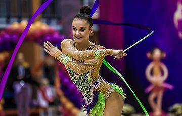 Белорусская гимнастка Алина Горносько завоевали бронзу на Олимпиаде в Токио