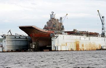 Залег на дно рядом с «Адмиралом Кузнецовым»