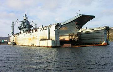Расея не ведае, што рабіць з затанулым докам «Адмірала Кузняцова»