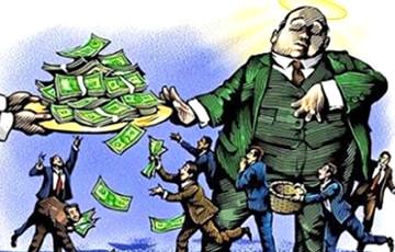 Разрыў паміж багатымі і беднымі ў Беларусі ўсё большы