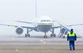 В аэропорту Минска из-за густого тумана снова задерживаются рейсы