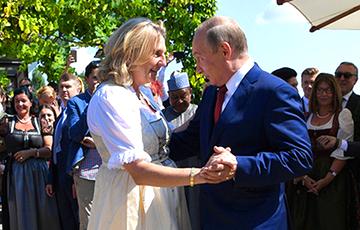 Танцевавшая с Путиным экс-глава МИД Австрии получила место в совете директоров «Роснефти»
