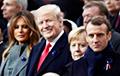 Фотофакт: С какими лицами смотрели на опоздавшего Путина Трамп, Макрон и их жены