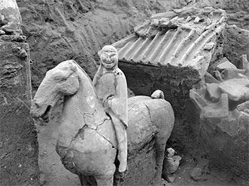 В Китае нашли мини-версию знаменитой Терракотовой армии